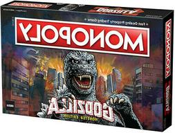 MONOPOLY GODZILLA  Table Top Game, Board Game