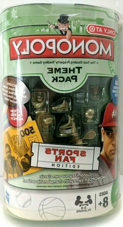 Monopoly Theme Pack Sports Fan Edition Football Baseball Par