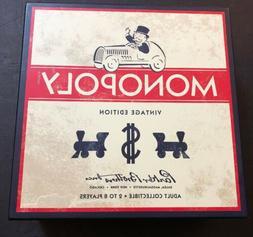 Monopoly Vintage Edition from Restoration Hardware Wooden Ga