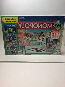 My Monopoly Make Your Own Game Hasbro Parker Brothers Board