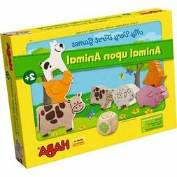 HABA My Very First Games - Animal Upon Animal Wood Stacking