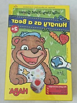 HABA My Very First Games Hungry As A Bear Memory & Dexterity