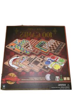 New! Ambassador Board Games Classic Games 100 Games Brand gi