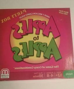 NEW Apples To Apples Mattel Games The Game Of Crazy Combinat
