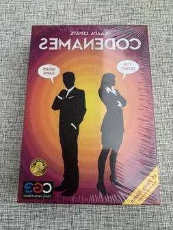 New Codenames Strategy Spy Game Team Play Party Card Czech G