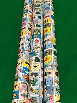 New Don Clement MINI Mexican Loteria Bingo 2 Paper Roll for