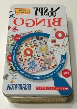 *NEW* I SPY BINGO GAME By Briarpatch ISpy Ages 4+ Preschool
