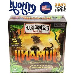 New Jumanji Escape Room the game family board games fun play