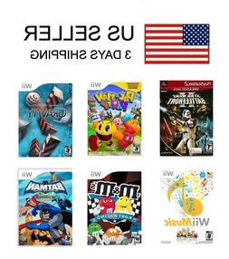 NEW Nintendo Wii / Wii U / PS2 Games Pick 1 Sony Playstation