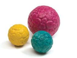 NEW Pink Blue or Yellow Zogoflex Air Boz Durable Ball Dog To