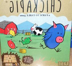 NEW SEALED CHICKAPIG A FARM TO TABLE BOARD GAME AGE 8+ BUFFA