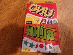 "NEW! MATTEL ""UNO"" & UNO ""BLINK""  2 CARD GAMES COMBO"