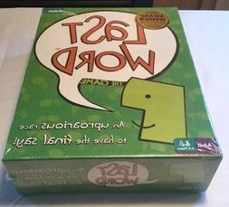 """NEW Unopened """"Last Word"""" game for 2-8 Adult players by Buffa"""