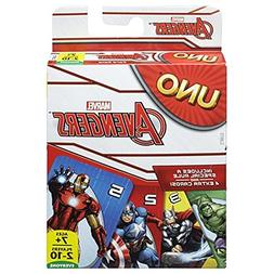 NIB Mattel Uno Card Game 2014 Marvel Avengers Deck in Box