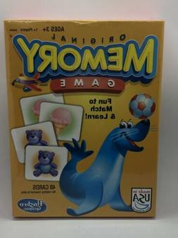 ORIGINAL MEMORY CARD MATCHING GAME NEW FACTORY SEALED HASBRO