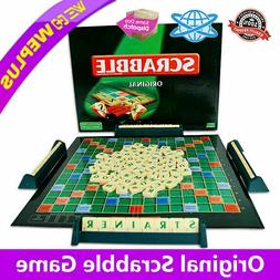 Original Scrabble BOARD Game Family Kids Edition Words Toys