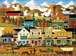 Buffalo Games Pete's Gambling Hall by Charles Wysocki Jigsaw