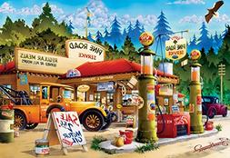 Buffalo Games Pine Road Service Jigsaw Puzzle