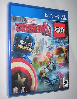 Playstation 4 PS4 Marvel LEGO AVENGERS Video Game Ages Every