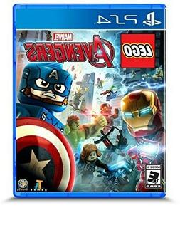 PLAYSTATION 4 PS4 GAME LEGO MARVEL AVENGERS BRAND NEW AND SE
