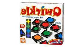 Qwirkle Board Game Set educational family plays like scrabbl