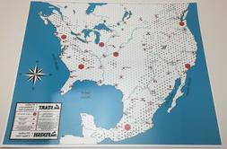 Rail Building Empire Builder - North America - Train Game Bo