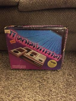 Rare Mattel Intellivision II 2 Console Original Box New Seal