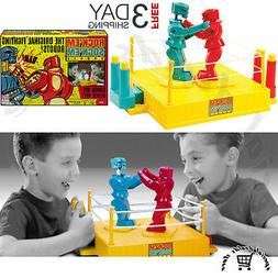 Rock em Sock em Robots Classic Box Retro Boxing Fun Toy Game