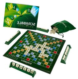 Mattel Scrabble Board Game Original Multi Color Authentic Br