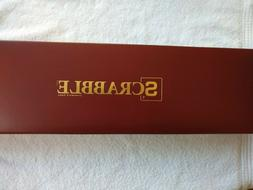 Scrabble Giant Deluxe Wooden ACCESSORIES ONLY!... NO BOARD..
