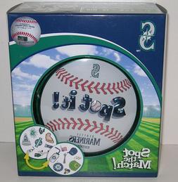 Seattle Mariners Spot It! Card Matching Game in Tin Baseball
