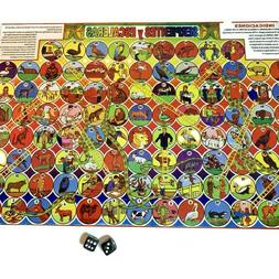 Serpientes y Escaleras 2 Mexican Board Games Juego la Oca FA