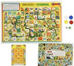 Serpientes y Escaleras 3 Mexican Board Games Don Clemente Ju