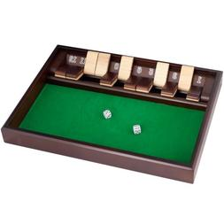 Trademark Global Shut The Box Game - 12 Numbers - Includes D