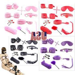 SM-Game-Suit-Adult-Handcuffs-Ball-Whip-Kit-Bondage-Set-Coupl