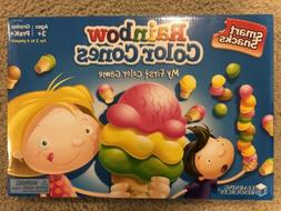 smart snacks rainbow color cones my first
