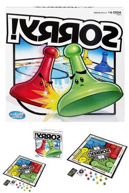 Sorry! Strategy Board Game for Kids Ages 6+ Children Family