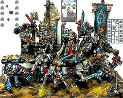 Space Marines 10 DEATHWATCH Tactical Squad UPGRADES Games Wo