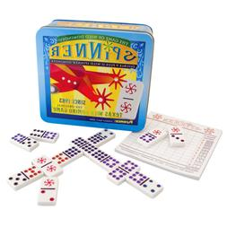 Spinner: The Game of Wild Dominoes, Double 9 Set Plus 11 Spi