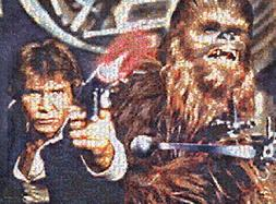 Star Wars Photomosaics - Han Solo & Chewbacca: 1000 Pcs