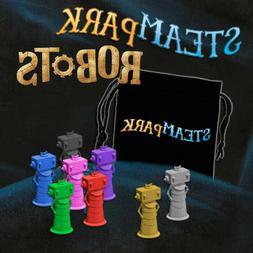 Steam Park Robots Mini Expansion Family Board Game Iello Gam