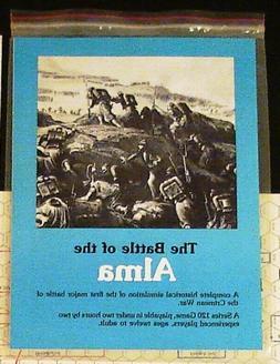 The Battle of Alma: Crimean War 1854; GDW Series 120 Game, U