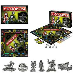 The Nightmare Before Christmas Monopoly Board Game Toys For