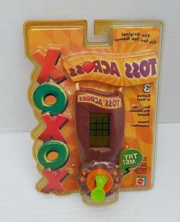 The Original Tic Tac Toe Electronic 3 Game in1 Batteries Tos