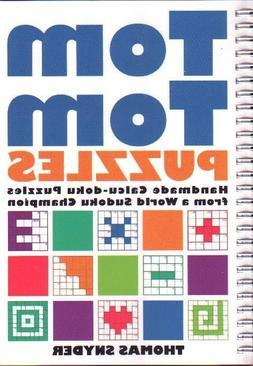 TOM TOM PUZZLES New CALCU-DOKU Book GAMES Brain Teasers LOGI