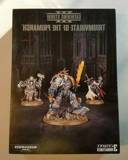 Triumvirate of the Primarch Gathering Storm - Warhammer 40K