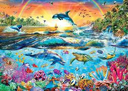 Buffalo Games Tropical Paradise Jigsaw Puzzle