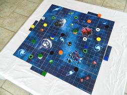 TYRAN 2 games in 1 Intergalactic Strategic Board Game by USA