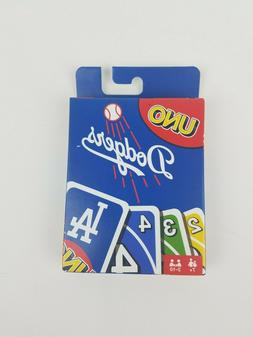 Uno LA Dodgers Card Game New Mattel