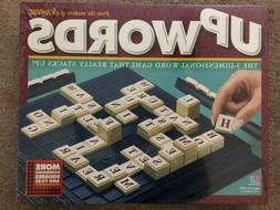 UpWords Board Game 1997 Scrabble 3D Word Stack Milton Bradle
